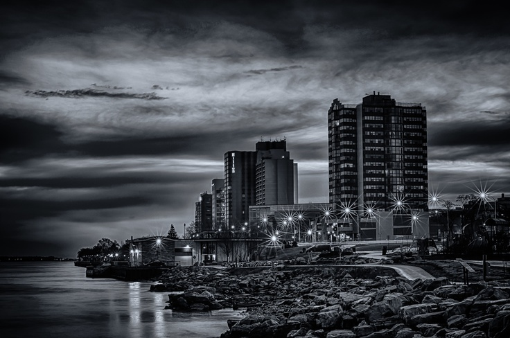 Windsor Riverwalk, Windsor, Ontario | by Steven Wosina, via 500px