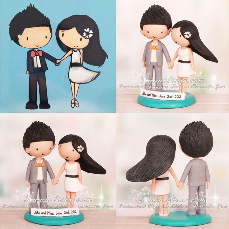 Cartoon Wedding Cake Toppershttp://www.fundeliver.com/theme-toppers-c-1_7/cartoon-wedding-cake-toppers-p-553
