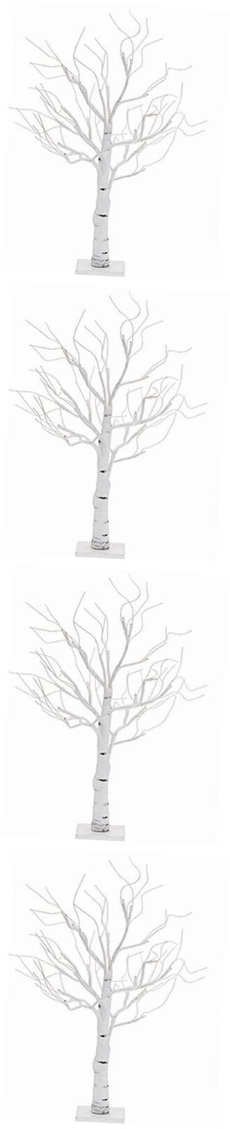 Artificial Christmas Trees 117414: Twiggy White Birch Poseable Leafless Tree Small With 24 Warm White Led Lights -> BUY IT NOW ONLY: $49.97 on eBay!