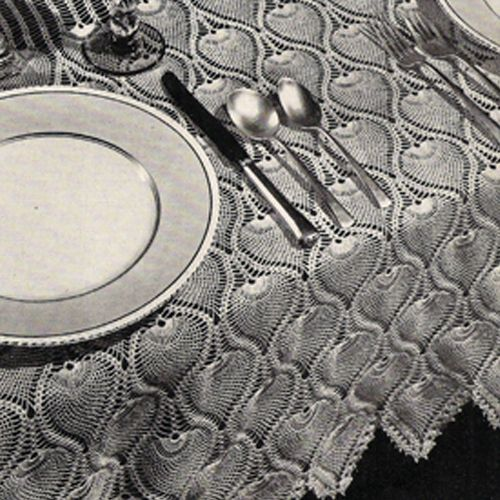 15 Pin su Crochet Tablecloth Pattern da non perdere ...