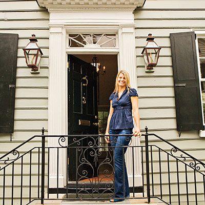 Charleston Home Living Room - Southern Living