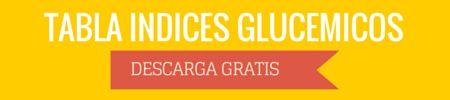 Tablas de índice glucémico