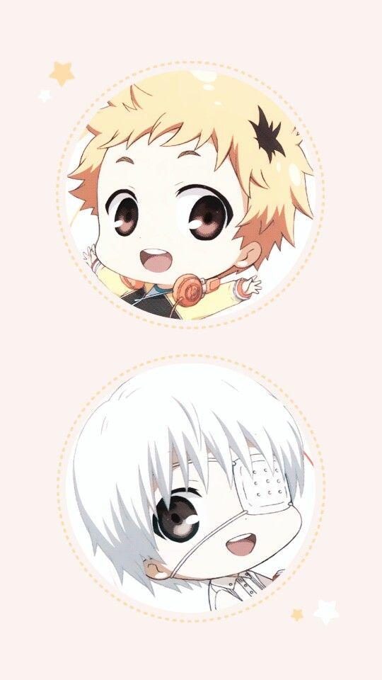 tokyo ghoul chibi anime wallpaper / background