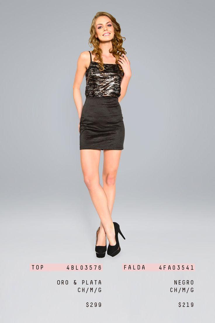 #lizminelli #antro #fiesta #falda #blusa #moda  http://antro.lizminelli.com/