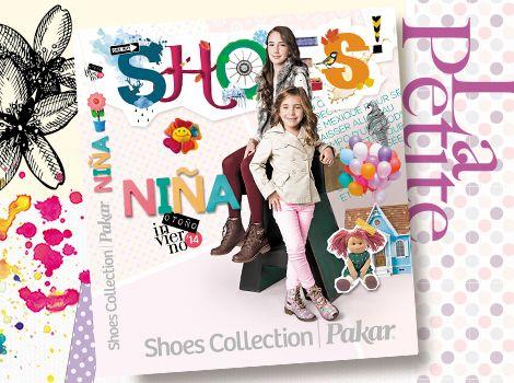 Catálogo niña Shoes Collection Pakar otoño invierno 2014.