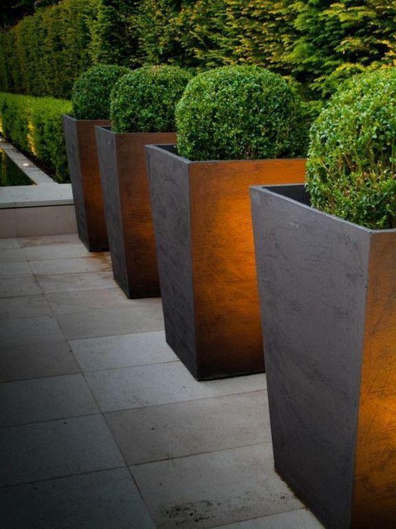 20 Gorgeous Tall Pots Planters Ideas For Modern Garden