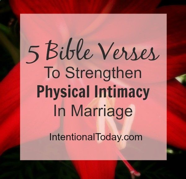 Bible marriage begins sex very