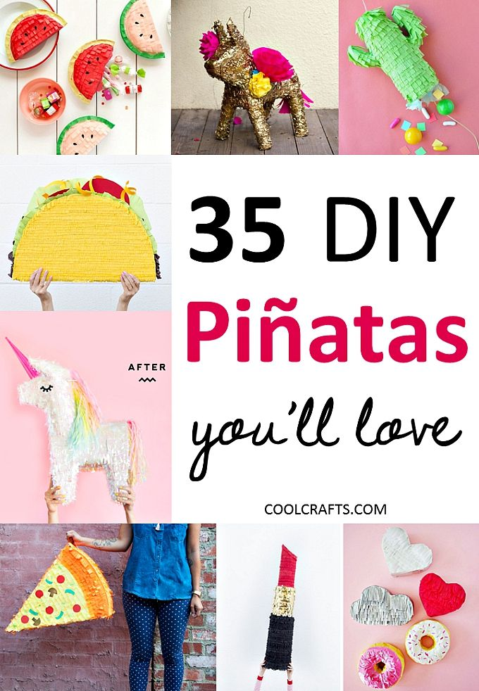 35 pinata ideas that you'll love, http://www.coolcrafts.com/pinata-idea/