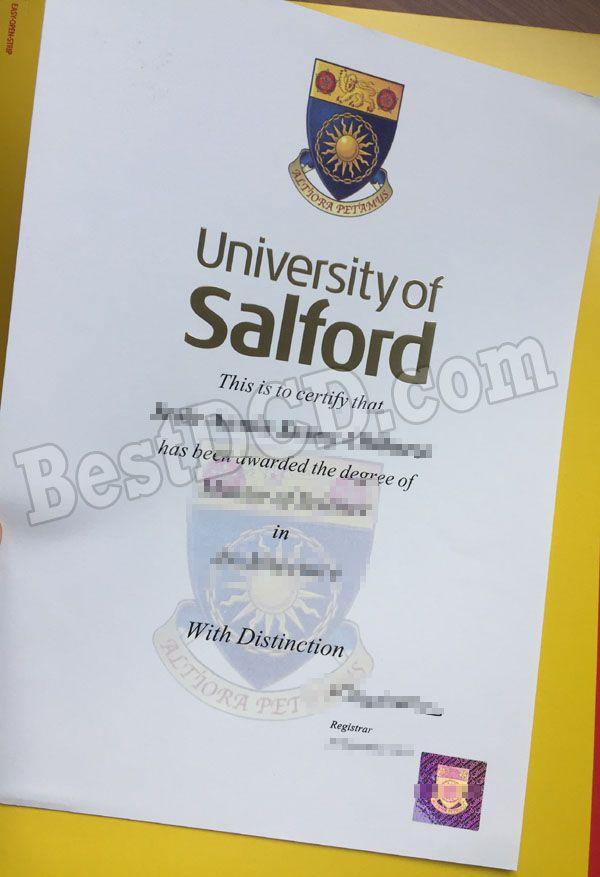 University Of Salford Fake Degree Fake Certificate The Best Uk