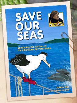 I was asked to write this book for the Sir Peter Blake Trust.  As well as including quotes from Sir Peter Blake about marine life - readers can also find out how vulnerable New Zealand's marine life are around the coast.