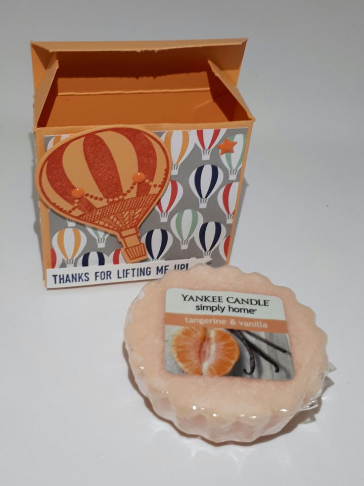 Stampin' Up! Demonstrator stampwithpeg :Theme Thursday – Yankee Wax Melt Gift Box – Lift me up Bundle, Up and Away.
