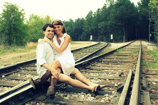 Such sweet engagement pictures