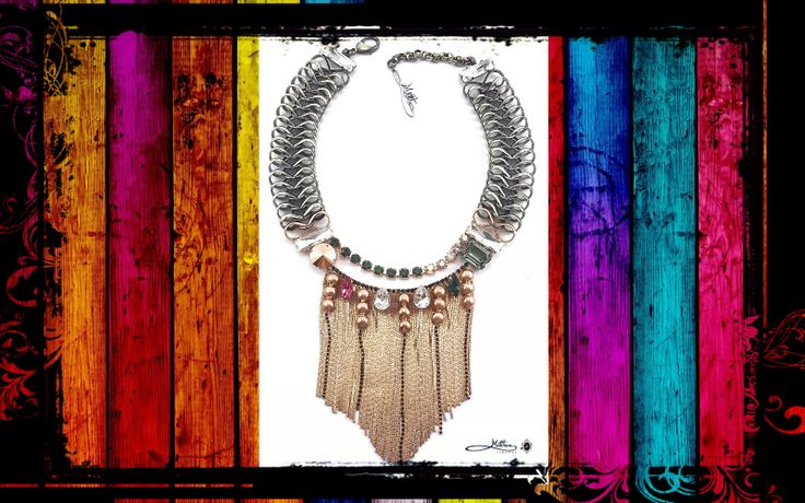 MILTON-FIRENZE Fringe Necklace https://www.facebook.com/pages/MILTON-FIRENZE/237831466369428
