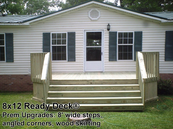 Lots Of Ideas For Porches And Decking For Trailers | Facing Mobile .
