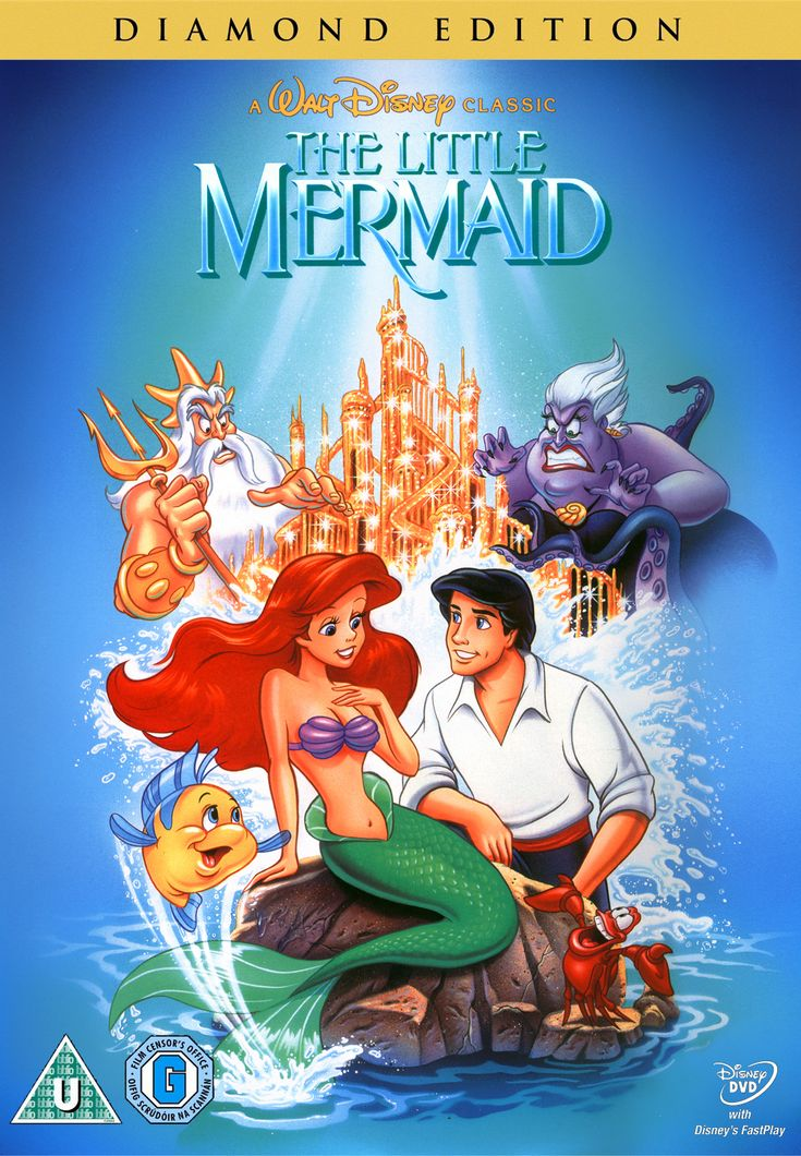 The Little Mermaid Dvd Diamond Edition This Is Coming -7080
