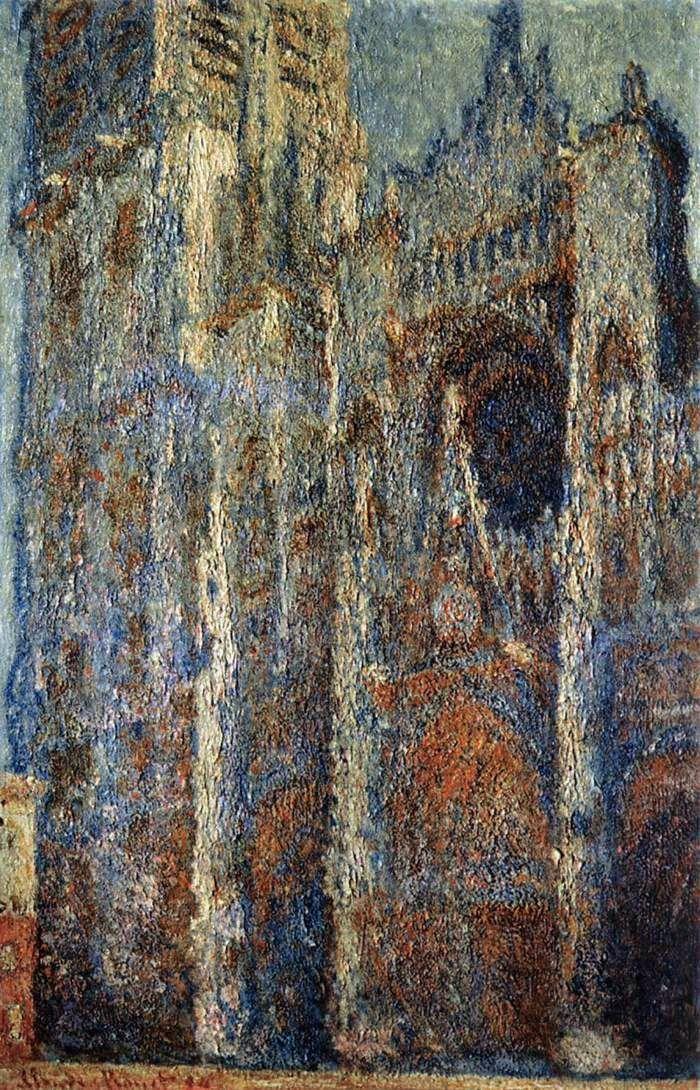 Ο καθεδρικός ναός του Ρουέν βράδυ  (1894)