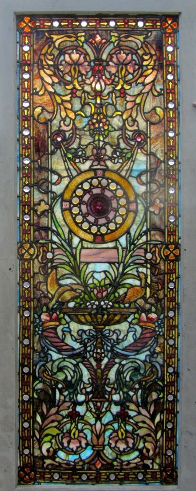 Antique stained glass doors - Find This Pin And More On Stained Decorative Glass Antique American Stained Glass Door
