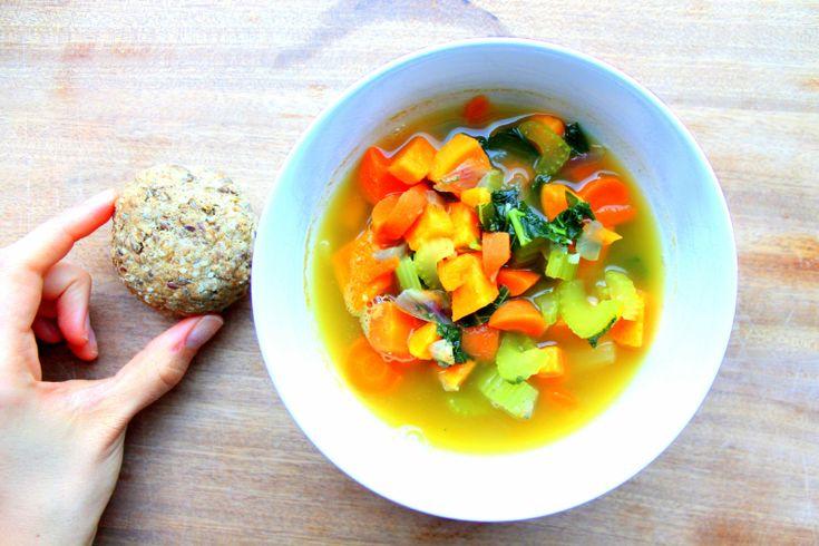 Hva med grønnsakssuppe til middag en gang i løpet av påsken? Eller kanskje du kan fylle termosen ...
