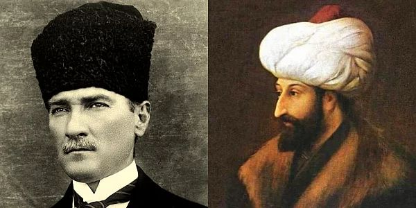 %50 Atatürk - %50 Fatih!