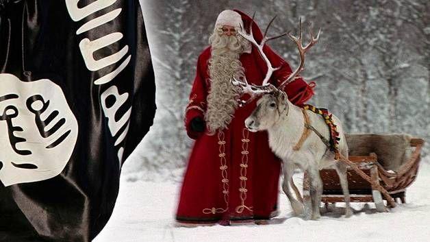Terroristijärjestö Isisiä lähellä oleva Nashir Media maalaa pelottavia uhkakuvia joulun ja uuden vuoden viettäjille. Supon mukaan Suomeen ei kuitenkaan kohdistu erityistä uhkaa.