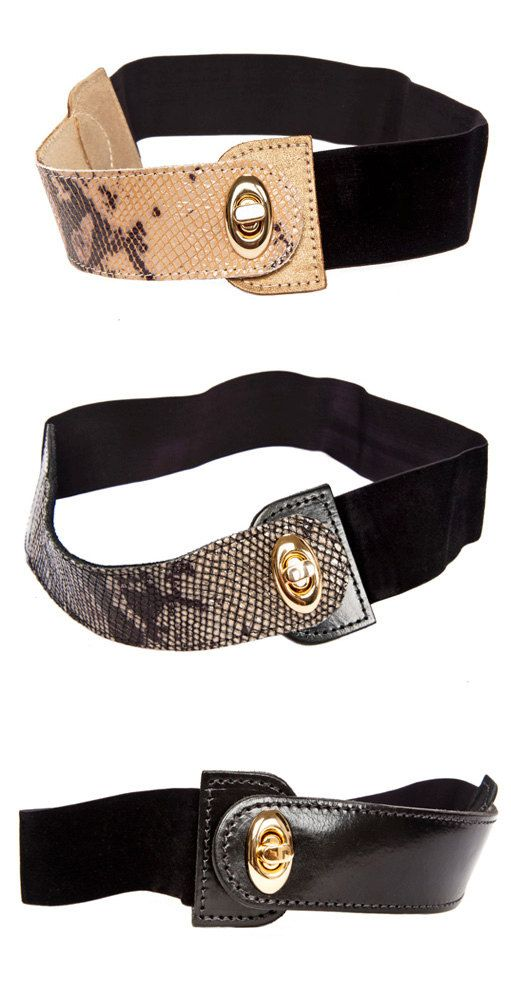 Gold Belt women belts metal belt sash belt by AyeletShachar
