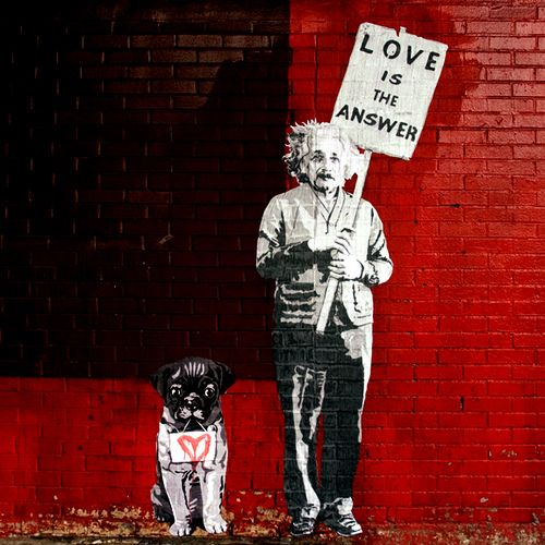 Banksy. This is Art, not Mine nor yours, but It deserves to be seen...by everyone...Share it...