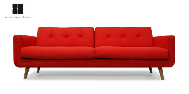 Hagan 3 Seater Lounge Suite by Scandinavian Design