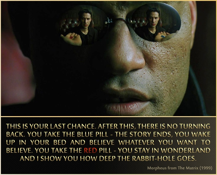 morpheous quote  matrix  Pinterest  Movie, Films and TVs