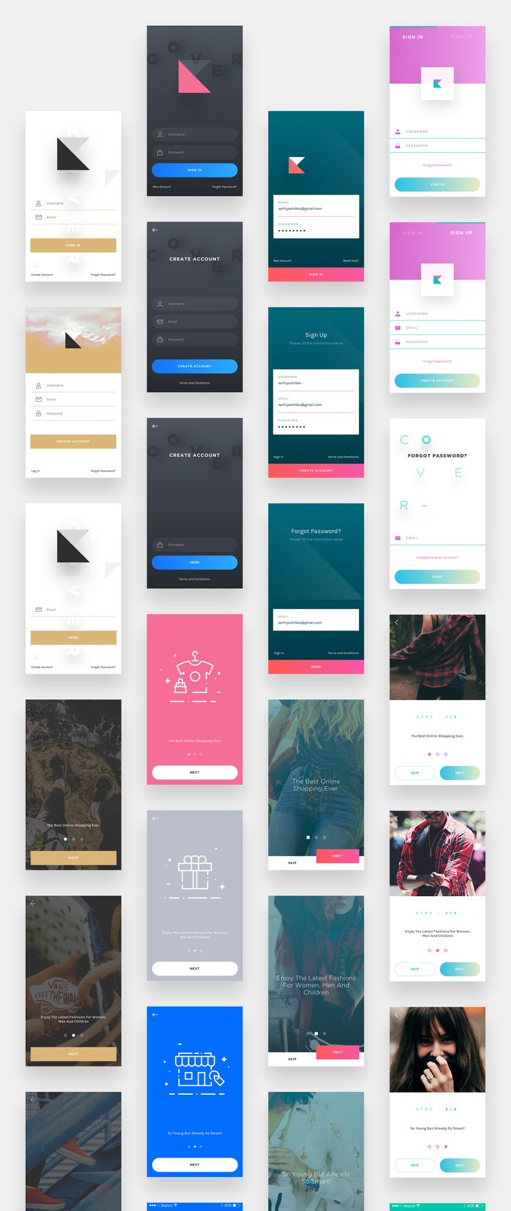 UI8 — Products — Cover UI Kit