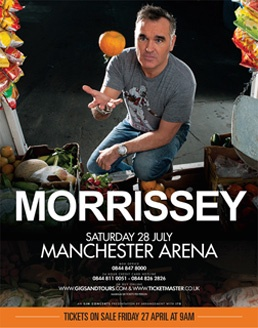 Morrissey's coming!!!!