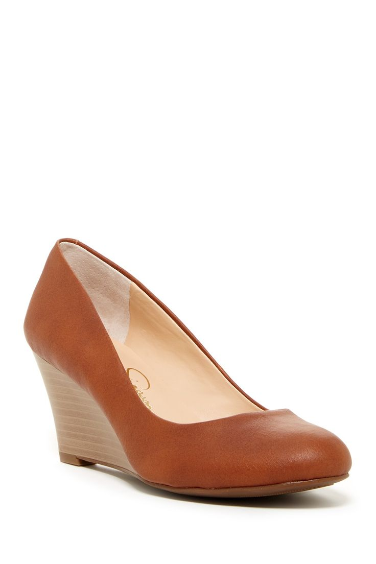 Jessica Simpson - Sampson Wedge Pump at Nordstrom Rack. Free Shipping on orders over $100.