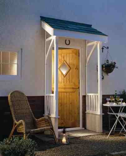 Door and porch: http://www.period-doors.co.uk/product/Flat-Roof-Canopy-with-Chamfered-Dwarf-Wall-Support