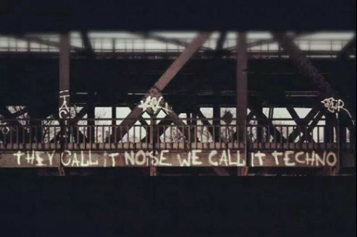 They call it noise we call it techno. #techno