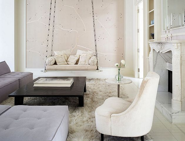The rich and the famous : Gwyneth Paltrow's Light and Airy NYC Apartment
