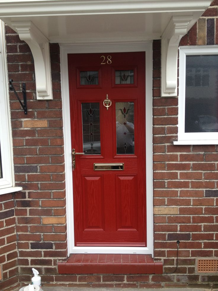 12 best front door colour images on pinterest front door - Front door colors for brick houses ...
