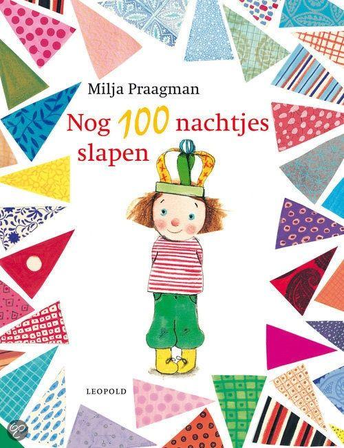 """Bij het boek """"Nog 100 nachtjes slapen"""" van Milja Praagman, het prentenboek van de Nationale Voorleesdagen 2013 hebben juf Sanne en juf Marije twee digibordlessen gemaakt. Voor concreet verwerkingsmateriaal bij het thema Feest"""