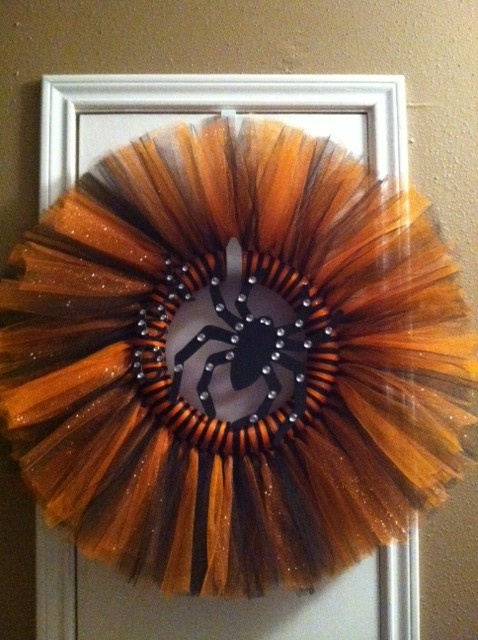 halloween tutu wreaths