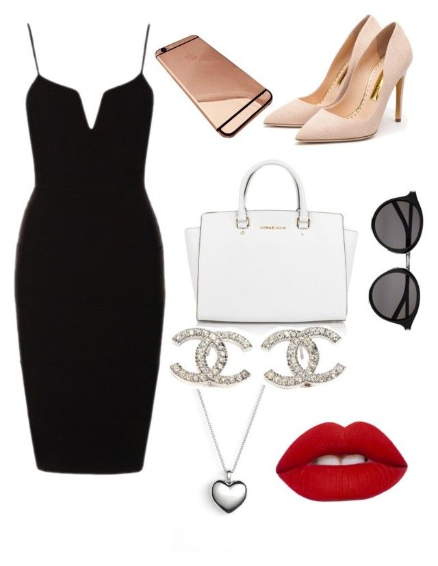 """""""Untitled #30"""" by yazzylovexoxo on Polyvore featuring Rupert Sanderson, Michael Kors, Yves Saint Laurent, Pandora, Chanel, Lime Crime, women's clothing, women, female and woman"""