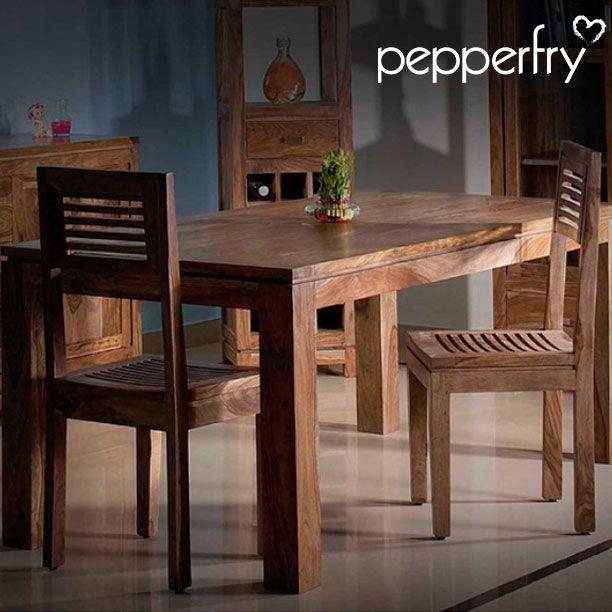 Sheesham Wood Six Seater Dining Set