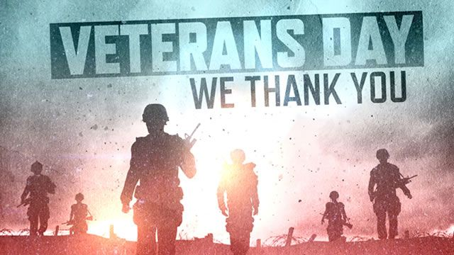 "Hi guys, Let's take a second to learn what ""veteran's day"" is so we can truly appreciate and honor all of those whose paid the ultimate price to make sure we live free today! As a French person, Ve..."