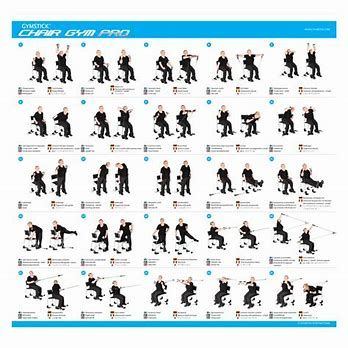 image result for printable chair exercises for seniors yoga