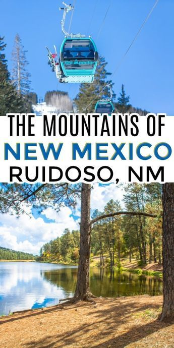 Planning travel to New Mexico? Do you know about the mountain resort town of Ruidoso? Features the great New Mexico culture along with outdoor resort activities. Great adventure destination in the southwest USA #TravelDestinationsUsaResorts