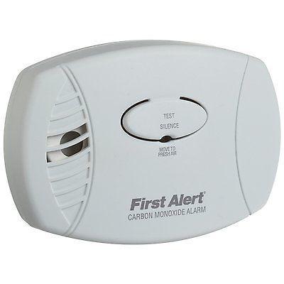 New First Alert CO600 Carbon Monoxide Alarm Detector Home Safety*