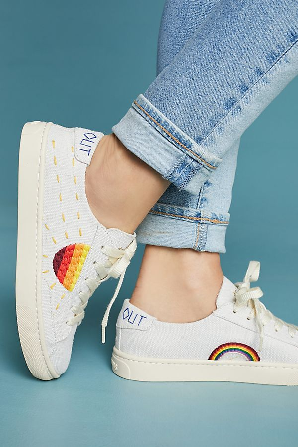 21a3c9114 Slide View: 2: Soludos Embroidered Sun Sneakers | Styleee | Shoes ...