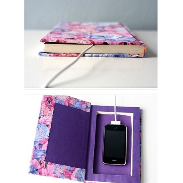 Notebook To Hide Your Phone In Class Or Work Diys Diy