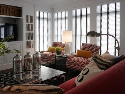 vibrant-color-palette-of-eco-friendly-living-room: Rooms Idea, Living Rooms, Hgtv Dream Homes, Hgtv Green Homes 2010, Living Inspiration, Color Interiors, Media Rooms, Families Rooms, Chic Coastal Living