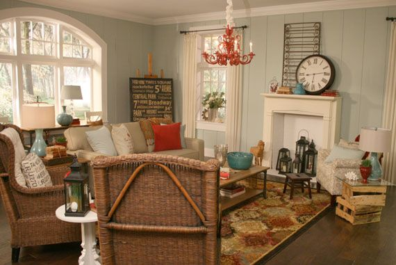 beach themed living room turquoise red turquoise and