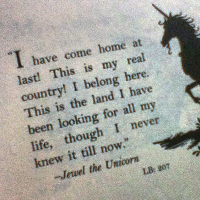 coming home to your country.  I wonder what heaven will feel like compared to earth.