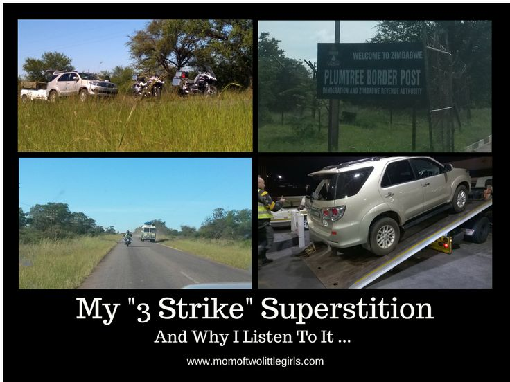"""My """"3 Strike"""" Superstition, and why I listen to it."""