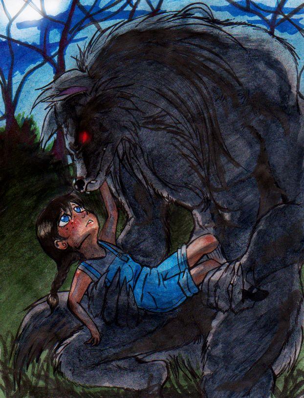 Nice werewolf - photo#6